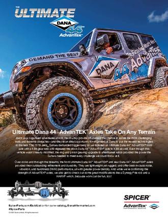 Dana 44™ AdvanTEK® Jeep® Build List