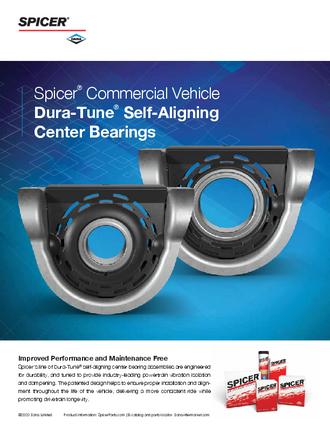 Dura-Tune Center Bearing