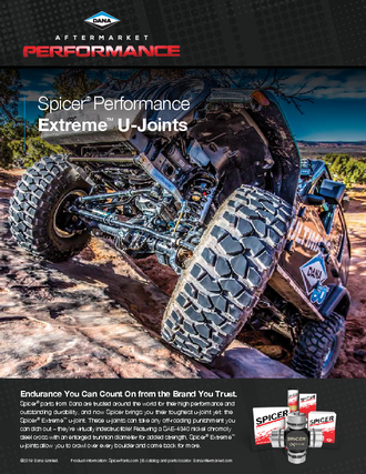 Spicer Extreme U-Joint