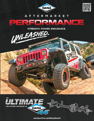 The Ultimate Dana 44™ Axle for the Jeep Wrangler JK