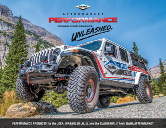Performance Products for the Jeep Wrangler JK, JL and the Gladiator JT