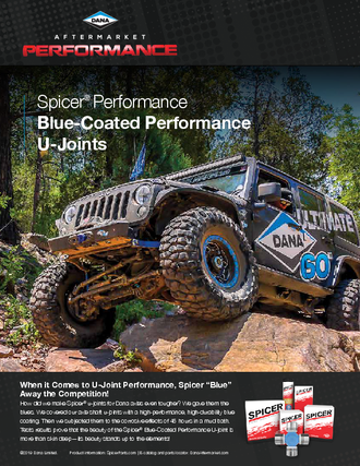 Blue-Coated Performance U-Joints
