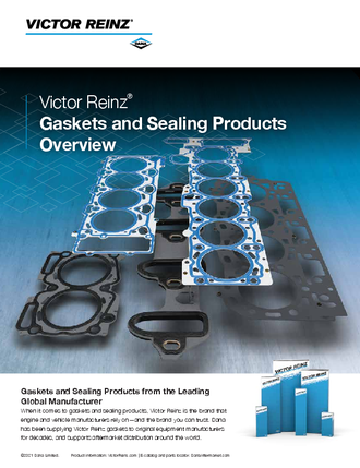Victor Reinz® Light Vehicle Gaskets and Sealing Products Overview