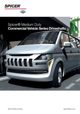 Spicer Driveshafts for the Mercedes Benz Sprinter | Spicer Parts