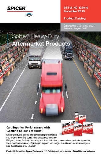 Spicer Heavy-Duty Aftermarket Products
