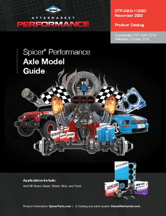 Spicer® Performance Axle Model Guide
