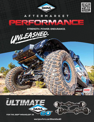 The Ultimate Dana 60 for the Jeep Wrangler JK