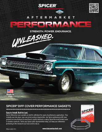 Spicer Diff Cover Performance Gaskets